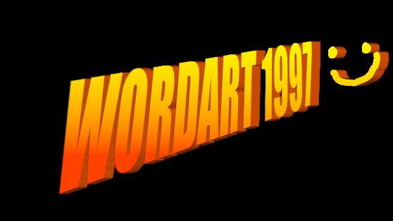 wordart 1997 nuke