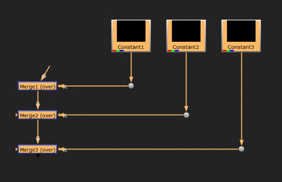 merge connect dot in straight corner nuke