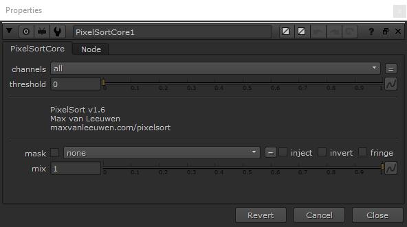 Nuke PixelSort node c++ NDK