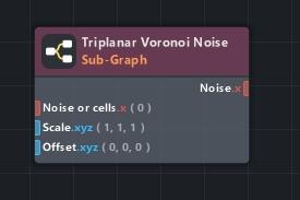 triplanar voronoi noise subgraph